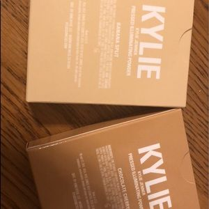 Makeup - Kylie Jenner highlighters and lip gloss